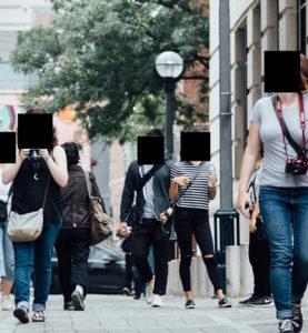 visages cachés rue